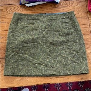 Lined tweed skirt from Loft